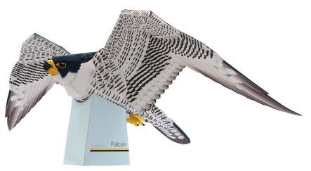 falcon_papercraft
