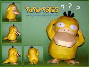pokemon-psyduck-papercraft