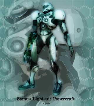 samus-light-suit-papercraft-metroid