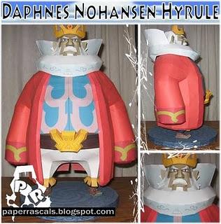Daphnes Nohansen Hyrule papercraft