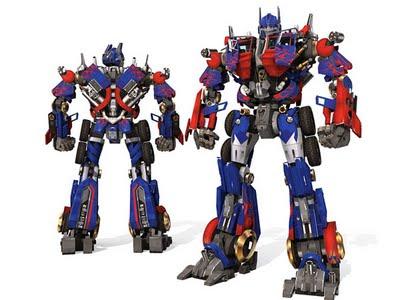 optimus prime papercraft