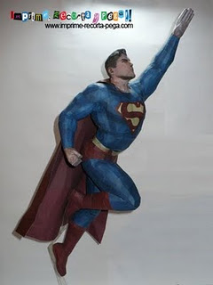 Superman papercraft