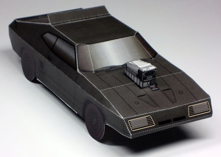 mad max interceptor papercraft