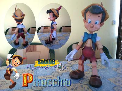 Disney Pinocchio Papercraft