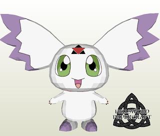 Digimon Calumon Papercraft