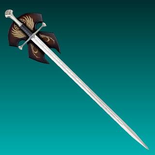 LOTR Anduril Sword Papercraft