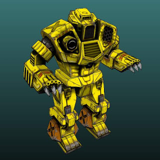 MechWarrior 4 Kodiak Papercraft