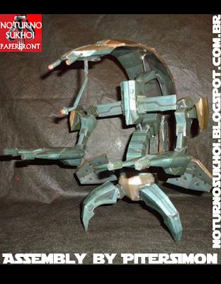 Star Wars Droideka Papercraft