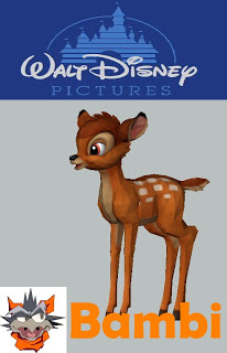 Bambi Papercraft