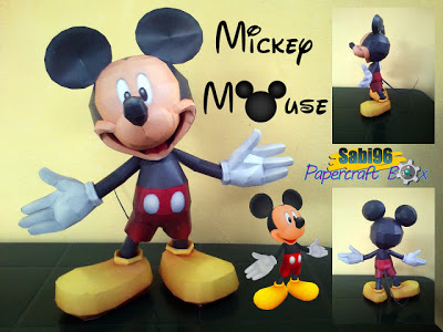 Disney - Mickey Mouse Papercraft