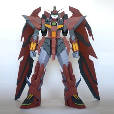 Epyon Gundam Papercraft
