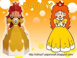 Princess Daisy from Mario Bros