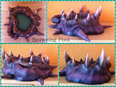 Starcraft Spawning Pool Papercraft