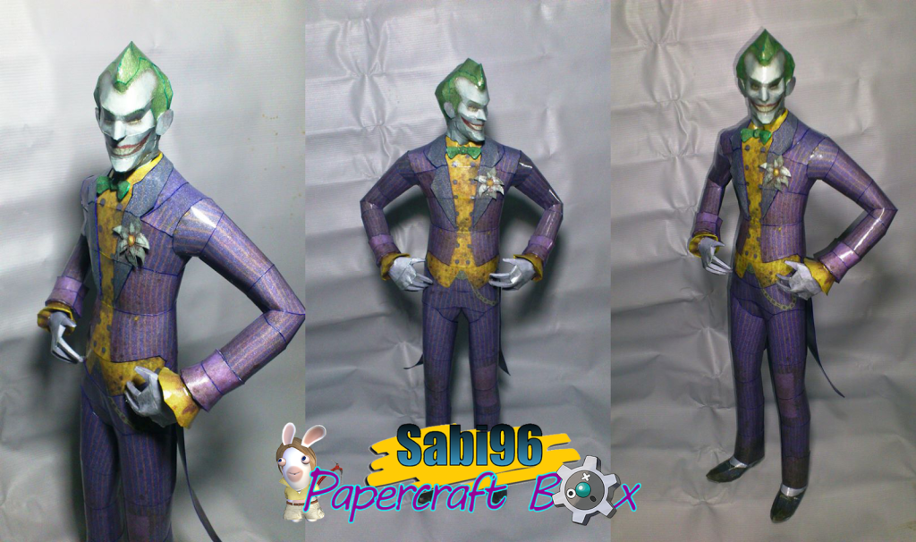 Batman+Arkham+City+-+Joker+Papercraft