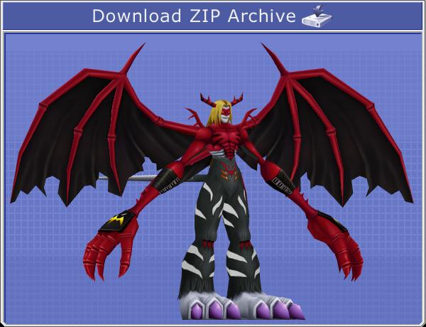 Digimon VenomMyotismon Papercraft