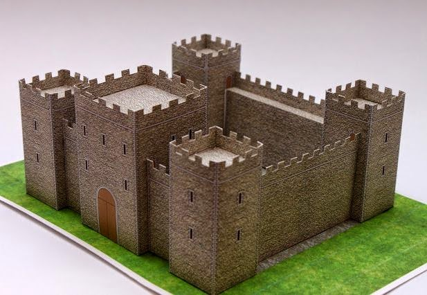 Medieval-Castle-Papercraft