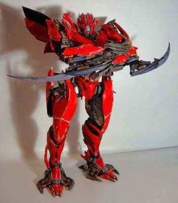 Transformers Mirage Papercraft