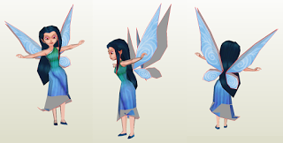 Disney Fairies  - Silvermist Papercraft