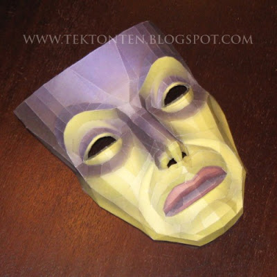 Snow-White-Magic-Mirror-Mask-Papercraft