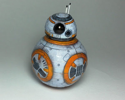 Star Wars VII BB-8 Droid Papercraft