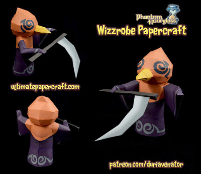 Phantom Hourglass Wizzrobe Papercraft