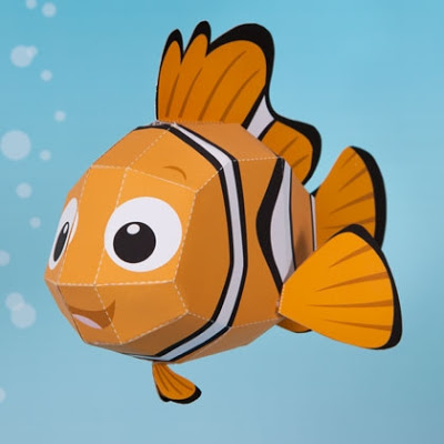 Disney-Nemo-Papercraft