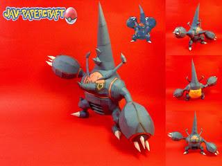 pokemon-mega-heracross-papercraft