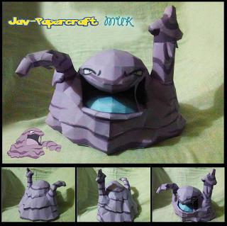 pokemon-muk-papercraft