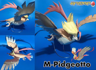 pokemon-mega-pidgeot-papercraft