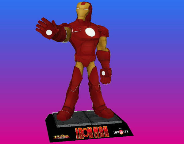 Disney-Infinity-Iron-Man-Papercraft