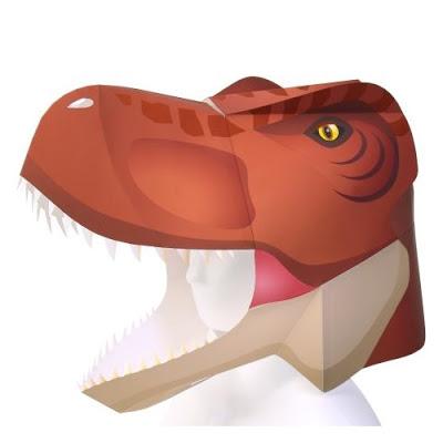 Máscara Tiranosaurio